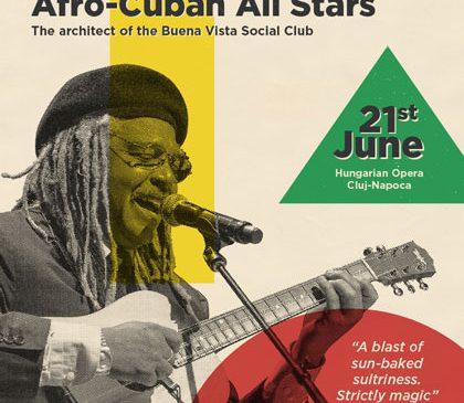 Big Band-ul Afro-Cuban All Stars deschide în 21 iunie ediția a șasea a festivalul Jazz in the Park la Opera Maghiară din Cluj