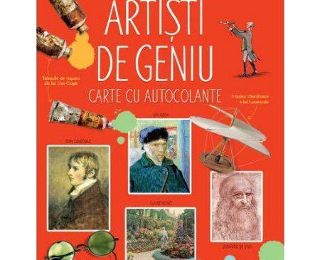 Artişti de geniu. Enciclopedie cu autocolante