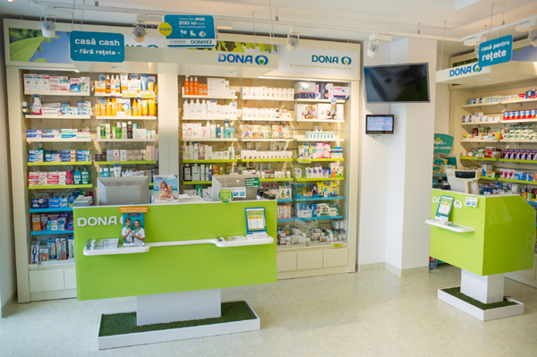 interior farmacie DONA