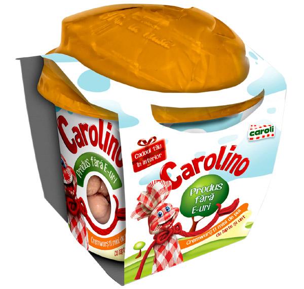 minicremwurști de pui Carolino
