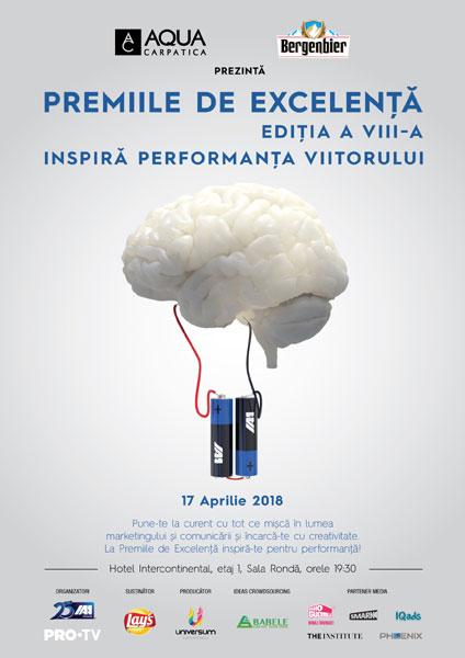 poster Premiile de Excelenta IAA 2018