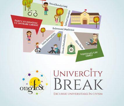 Primăvara studenții din București merg în UniverCity Break