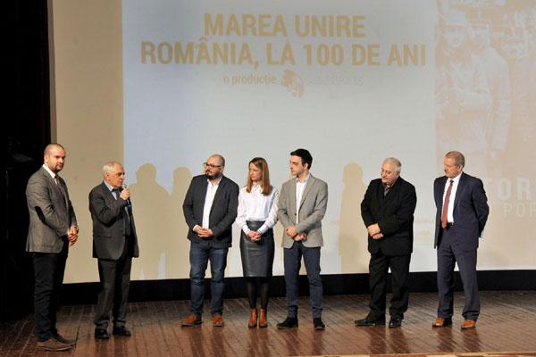premiera Marea Unire - Romania, la 100 de ani , Chisinau