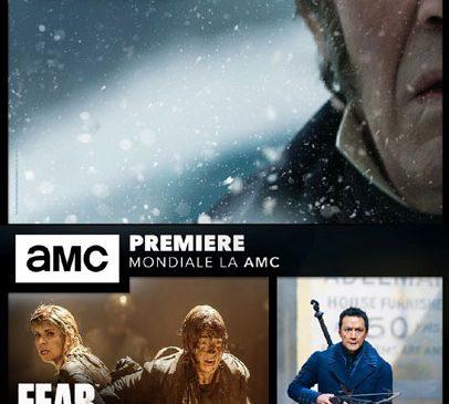 3 seriale în premieră, în 30 de zile, numai la AMC