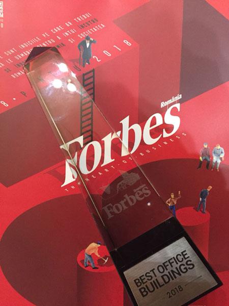 premiu One United Properties a primit premiul la Forbes Best Office Buildings 2018 Awards