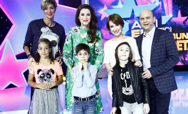 """Secretele Iulianei Tudor, ale Roxanei Ciuhulescu și ale Medeei Marinescu, dezvăluite de copiii lor, la """"Aici eu sunt vedeta"""""""