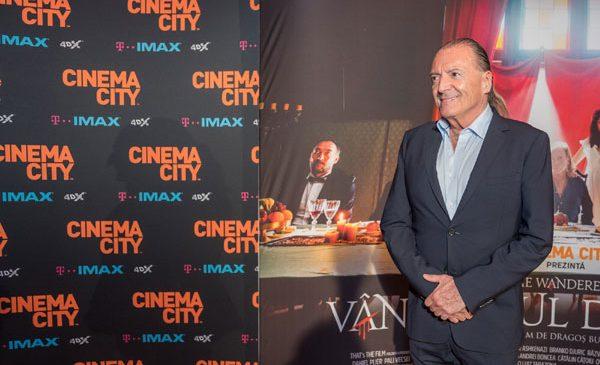 Armand Assante la Cinema City: întâlnire excepţională cu iubitorii de film bucureşteni