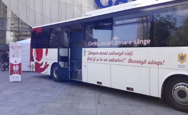 Centru mobil de recoltare sange