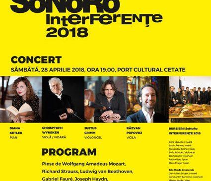 Concert SoNoRo Interferențe la Port Cultural Cetate