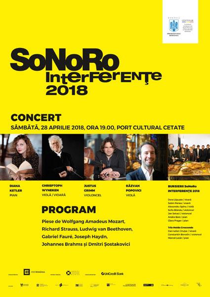 Concert SoNoRo Interferente la Port Cultural Cetate