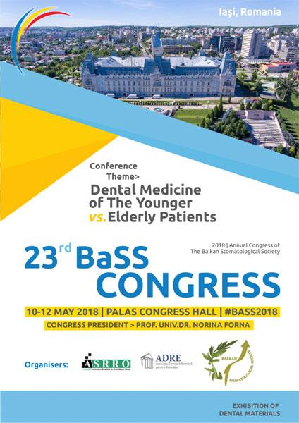 Congresul Societatii Balcanice de Stomatologie afis