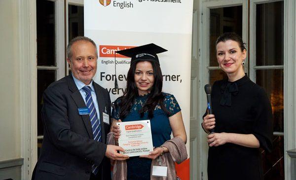 """Si cel de-al doilea castigator al primei editii """"Preparation Centre Awards"""" organizate de Cambridge Assessment English este Centrul de Limbi Straine Belle Languages, Ploiesti"""