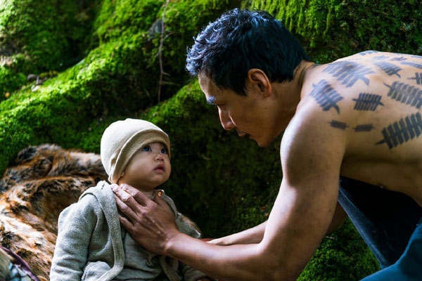 Daniel Wu si micutul Henry