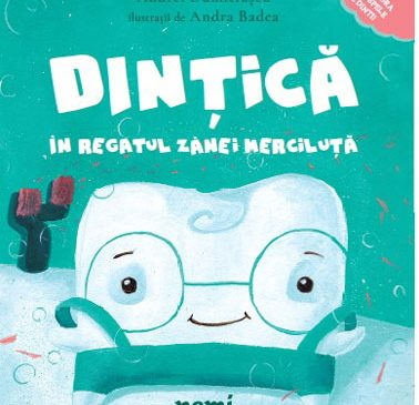 O carte care îi va împrieteni pe copii cu periuța și pasta de dinți
