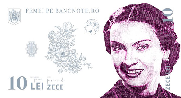 Femei pe bancnote