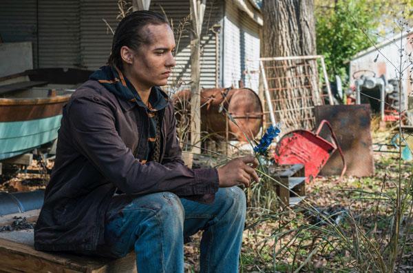 Frank Dillane, Nick Clark din Fear the Walking Dead
