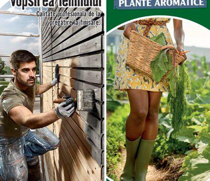 Cultivarea legumelor și a plantelor aromatice, protecția și vopsirea lemnului – proiectele lunii aprilie la HORNBACH
