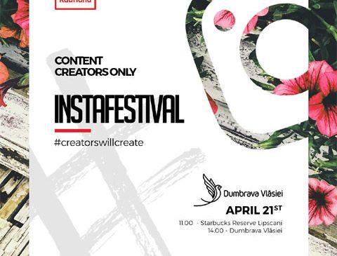 #Instafestival va avea loc sâmbătă, 21 aprilie, în Dumbrava Vlăsiei