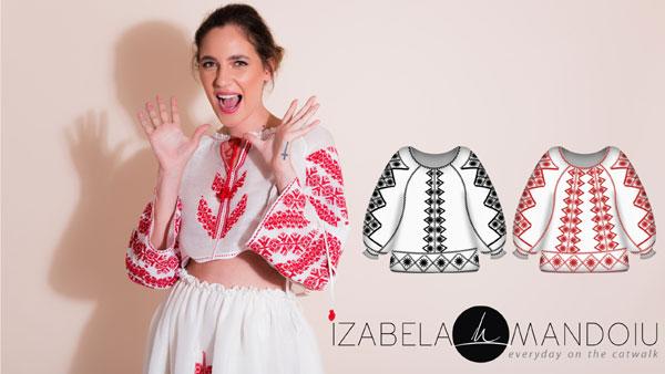 Izabela Mandoiu cere drepturile iei in lista de emoticons a social media, Votează simbolul, Simbol IE