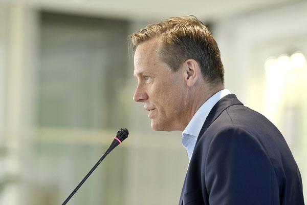 Jonas Eriksson, presedinte EANA si CEO al TT