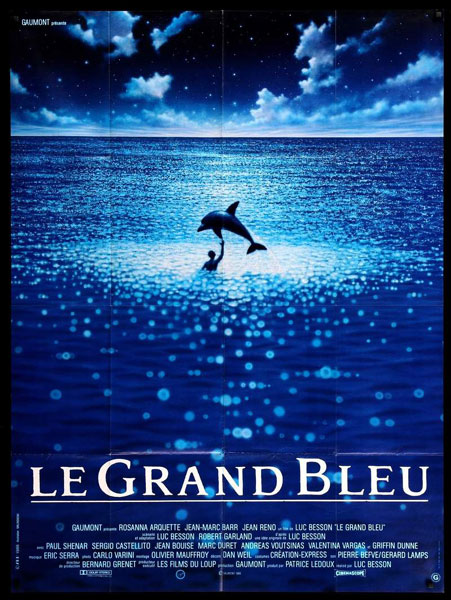 Le Grande Blue original poster
