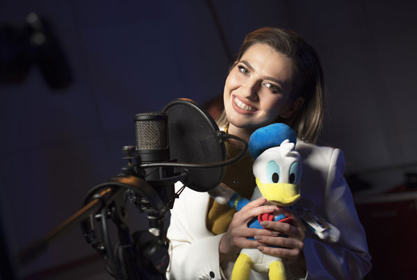 Lidia Buble canta la Disney Channel 6995