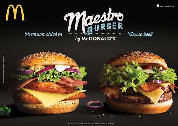 Maestro Burgers by McDonalds
