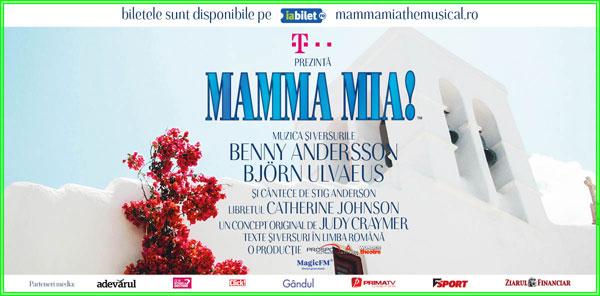 """Clujenii primesc cel mai frumos cadou de 1 iunie – premiera în țară a musicalului """"MAMMA MIA!"""""""