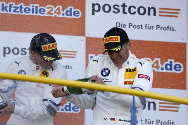 Podium pentru Scheider, Jensen si BMW Team Schnitzer in prima etapa din ADAC GT Masters