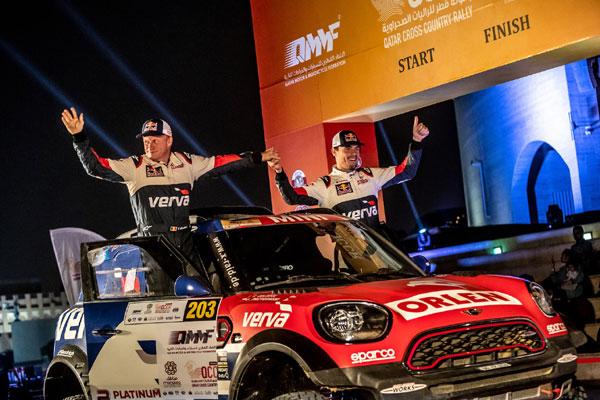 Qatar Cross Country Rally, Jakub Przygonski si Tom Colsoul