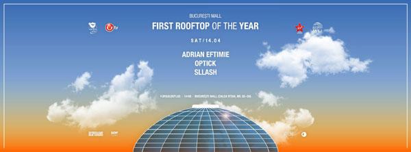 Primul Rooftop Party din 2018 se dansează la București Mall