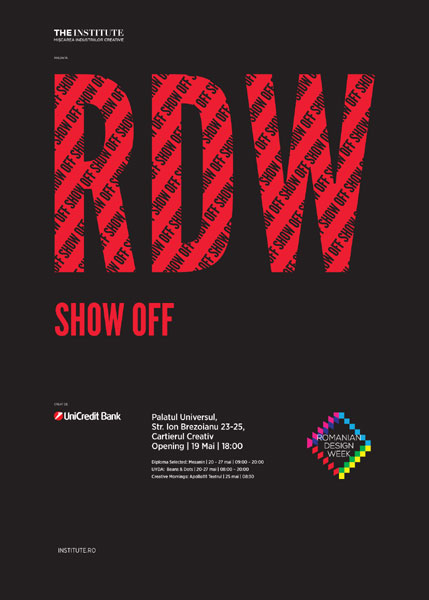 Show Off RDW poster