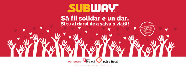 Subway, Blood Donor 2018 Stand