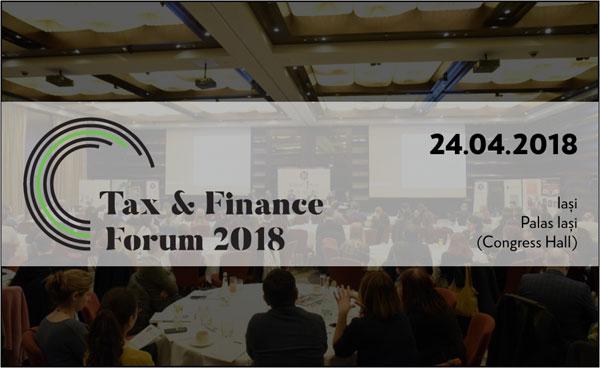 Tax & Finance Forum 2018 Iasi