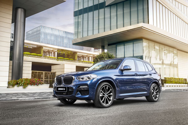 The BMW X3 China