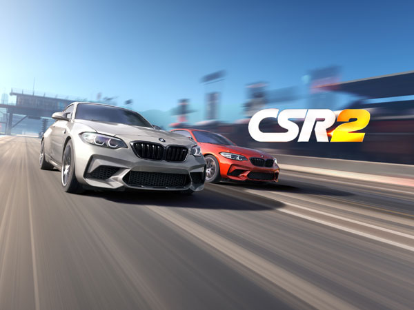 The new BMW M2 Competition in CSR Racing 2 from Zynga