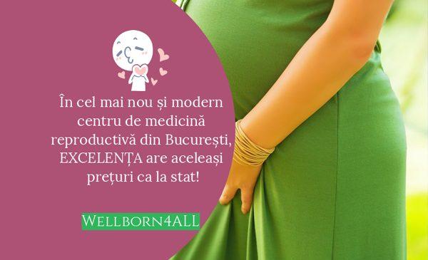 Noi suntem Wellborn4ALL, cel mai nou Centru de Reproducere Umană Asistată, accesibil tuturor cuplurilor din România
