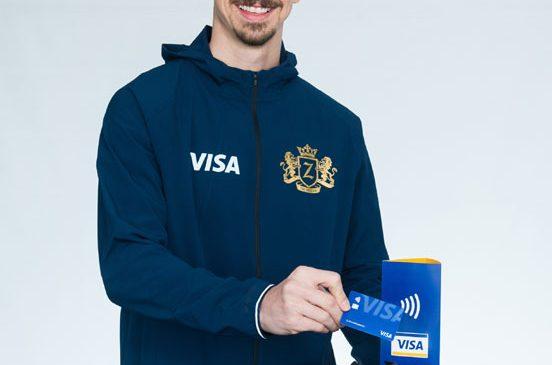 Zlatan Ibrahimović se alătură Visa înaintea Cupei Mondiale FIFA Rusia 2018™