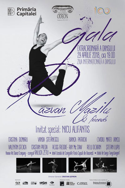 afis Gala Extraordinara a Dansului Razvan Mazilu & Friends