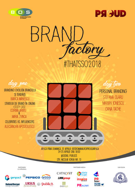 afis PRoud 12 Brand Factory