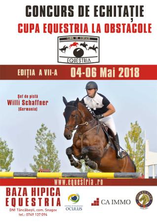Afis Cupa Equestria 2018