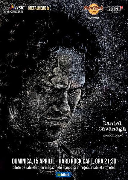 concert Daniel Cavanagh la Hard Rock Cafe