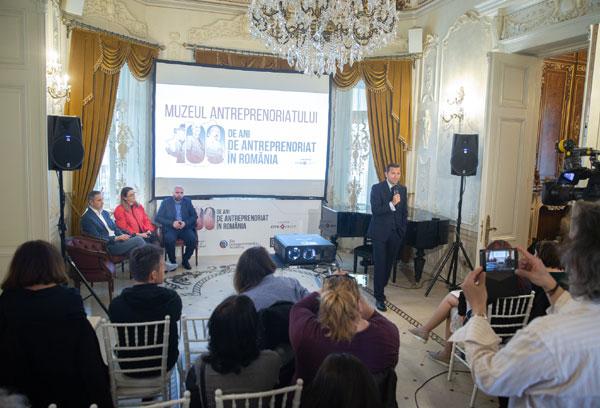 lansare Muzeul antreprenoriatului romanesc 2107