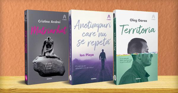 """Editura Nemira lansează colecția de literatură română contemporană """"n'autor"""""""
