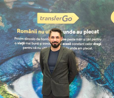 Marius Nedelcu, Country Manager TransferGo Romania
