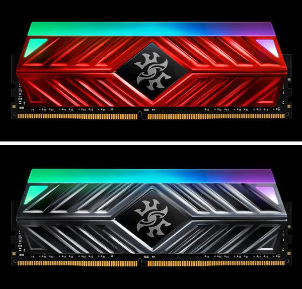 module de memorie DDR4 RGB - SPECTRIX D41