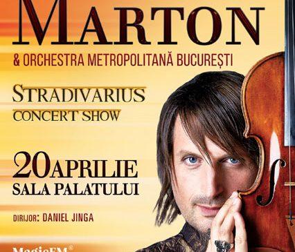 În concertul de la București, EDVIN MARTON va cânta la o vioară, cu o poveste impresionantă, evaluată la 7 milioane de dolari