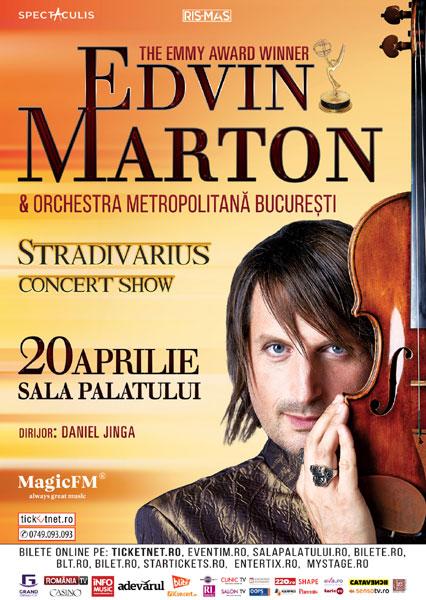 poster Edvin Marton, Stradivarius