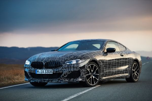 test noul BMW Seria 8 Coupe