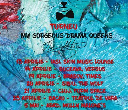 """Trupa The Motans pregătește super concerte pentru fanii săi din toata țara, în turneul """"My Gorgeous Drama Queens"""""""